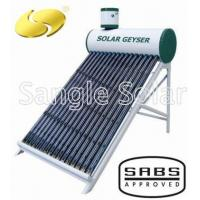 Buy cheap Low Pressure Vacuum Tube Solar Water Heater from wholesalers