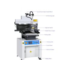 Buy cheap High Accuracy Solder Paste Screen Printing Machine With Touch Screen from wholesalers