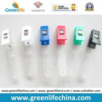 Buy cheap Colorful Plastic Badge Clip W/PVC Clear Strap Name Holder from wholesalers