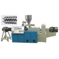 Wholesale Plastic Single Screw Extruder 150 - 1500KG / H Speed For PE Sewage Pipe from china suppliers
