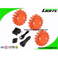 Buy cheap Magnetic Mount Led Warning Light Rechargeable Shockproof LED Road Flares for Car from wholesalers