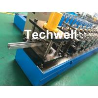 Buy cheap 0-15m/min Cold Roll Forming Machine For Making Door Frame Guide , Shutter Door Slats Guide Rail from wholesalers