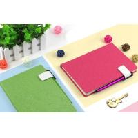 Buy cheap Business notebook with pen holder(frosted) from wholesalers
