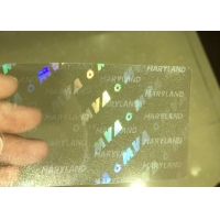 Buy cheap Maryland MD ID DL hologram overlay sticker with UV from wholesalers