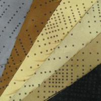 Buy cheap Hole Punched Suede Fabric, Customized Widths, Weights and Colors are Accepted from wholesalers