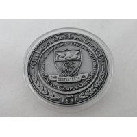 2D or 3D Personalized Coins / School Campus Coin with Antique Silver, Anti Nickel, Anti Brass Plating for sale
