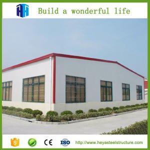 China HEYA low cost mobile industrial factory workshop steel building on sale