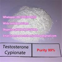 Buy cheap buy Testosterone Cypionate Raw Steroid Powders Testosterone Cypionate  Dihydroboldenone DHB Muscle Building from wholesalers