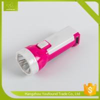 SD-5120 ABS Plastic Hand Press LED Flashlight Torch Manufactures