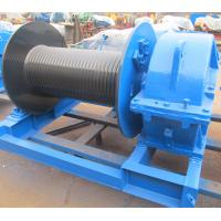 Buy cheap Industrial Electric Winch High Speed For Crane , Electric Hoist Lifting Winch from wholesalers
