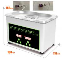 Buy cheap 800ml Stainless Steel Ultrasonic Jewelry Cleaner Eyeglasses Watch CD Record Disks Washing from wholesalers