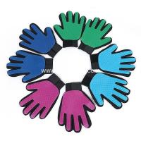 Wholesale pet grooming massage comb, high quality dog cleaning wash glove from china suppliers