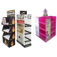 Buy cheap Environment friendly Corrugated POP Displays with Colorful printing for advertising from wholesalers