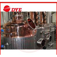 Buy cheap 100% Red Copper Alcohol Distiller , MoonshineDistillation Equipment from wholesalers