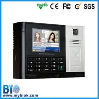 Buy cheap Multi-media ID Card Recognition Time Attendance tracking System Bio-S900 from wholesalers