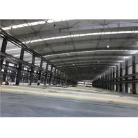 Buy cheap Durable Prefab Metal Sheet Steel Structure Warehouse Buildings Customized product