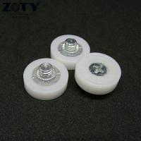 Buy cheap DR19C1L3 Plastic POM DR19 drawer file cabinet roller M6x19x6mm Short Rollers DR-19 from wholesalers