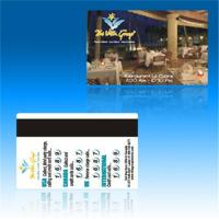 Buy cheap Magnetic  card,key card,hotel card,hico card,loco card supply from wholesalers
