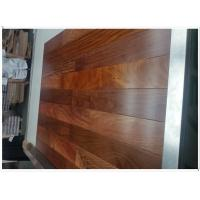 Buy cheap Santos Mahogany HDF engineered flooring, 3-layer, UV lacquer from wholesalers