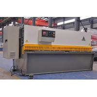 Hydraulic Power Steel Plate Shearing Machine for 4 - 40mm thickness Plate Cutting Manufactures