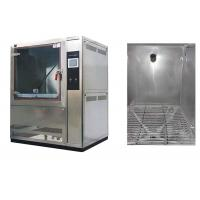 Buy cheap 1000L Volume Dust Test Chamber AC380V 50 / 60Hz With Centrifugal Fan Blower from wholesalers