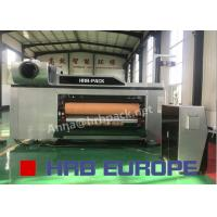Buy cheap Automatic 5 Colors Flexo Printer Slotter Die Cutter High Definition For Carton Box from wholesalers