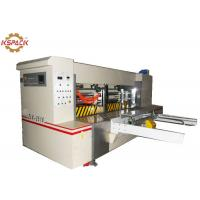 Buy cheap Automatic Feeding Rotary Sheet Cutting Mchine , Paper Creasing Machine from wholesalers