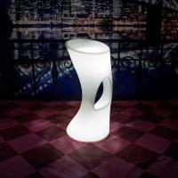 Wholesale Multicolor PE Plastic LED Bar Chair / LED Light Stool With IR Remote Control from china suppliers