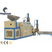 Buy cheap Plastic Granules Manufacturing Machine PP PE Recycling Noodle Cutting from wholesalers