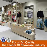 Buy cheap high quality clothes shop design/ladies clothes shop counter table design from wholesalers