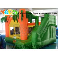 Buy cheap Funny 420D Oxford Coconut Trees Inflatable Jumper Castle For Children from wholesalers