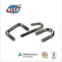 Buy cheap Customized Stainless Steel, Alloy Steel, Steel, Brass U Bolt from wholesalers