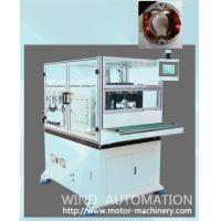 Buy cheap Automatic two pole universal motor stator coil winding stator winder from wholesalers