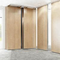 Wholesale Modular Hanging Folding Room Partition Walls MDF + Aluminum Material Sound Insulation from china suppliers