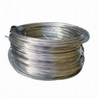 Buy cheap W1/W2 pure tungsten wire, 0.3 to 5.0mm diameter  from wholesalers