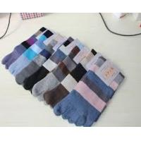 China Eco-Friendly Anti-Bacterial Breathable cutton toe socks, Sweat-Absorbent five toes socks on sale