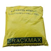 Buy cheap CRACKMAX Chemical Demolition Agents Stone Cracking Powder High Range Form from wholesalers
