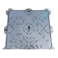 Wholesale Heavy Duty Ductile Iron Manhole Cover Frame Square Water Soluble Black Paint from china suppliers
