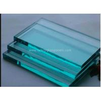 Wholesale Insulated Extra Clear Float Glass Sheets , Flat Back Painted Glass Partition Wall from china suppliers