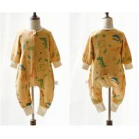 Buy cheap Muslin Printed Long Sleeve Sleeping Bag Clothes Woven Anti Bacterial For All Seasons from wholesalers