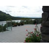 Buy cheap Dark Grey WPC Deck Flooring Waterproof Outdoor with Mountain Landscape from wholesalers