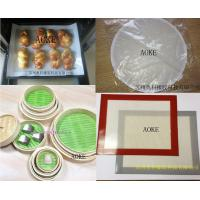Buy cheap Silicone fiberglass non-stick steamed pad from wholesalers