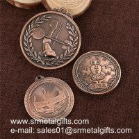 Buy cheap Antique bronze engrved metal coins, custom metal token wholesale for cheap, from wholesalers