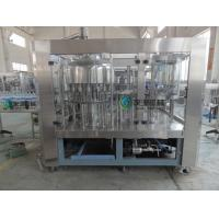 Buy cheap Soda Washing Filling Capping Machine 4Kw With 6 pcs Capping Head from wholesalers