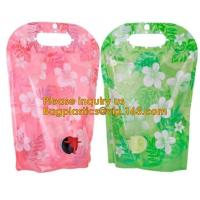 Buy cheap Customized 2L~22 L bags in box aluminum foil packaging bag with spout 10 liter wine bag in box,5L/10L juice bag wine spo from wholesalers