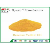 Buy cheap C I Reactive Yellow 181 Cotton Dyeing With Reactive Dyes Powder Fabric Dye from wholesalers