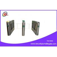 Buy cheap Bi directional Swing Barrier Gate RFID Retractable Half Height Turnstile entry systems from wholesalers