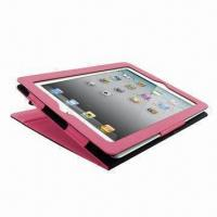 Buy cheap Leather Case in Book Style (Single Stand Function) for Apple's iPad, Different Colors product