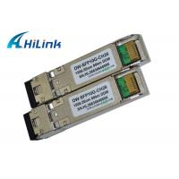 Buy cheap DWDM 10GB SFP+ Module Fiber Optic Transceiver CH26 EML Transmitter SMF Cable Type from wholesalers