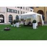 Buy cheap 3 / 8'' Flat Yarn Shape Backyard Outdoor Artificial Turf / Fake Grass Landscapin from wholesalers